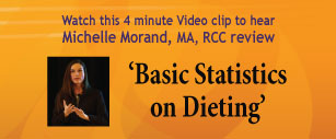 Basic Statistics on Dieting Video