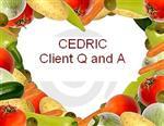 CEDRIC Client Q and  A